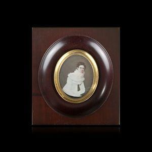 Expertissim - ecole francaise du xixe siecle, vers 1830. portrai - Retrato Miniatura