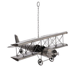 Maisons du monde - avion vintage métal - Lámpara Colgante Para Niño