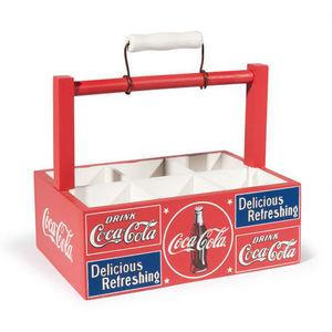 Maisons du monde - panier à verres coke - Caja De Vasos