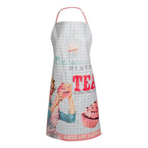 MAISONS DU MONDE - tablier pin up enduit - Delantal De Cocina
