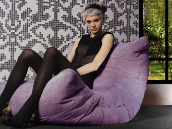 AMBIENT LOUNGE - acoustic sofa - aubergine dream - Sill�n Bajo