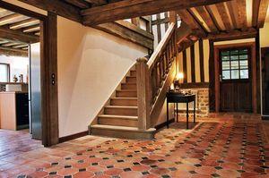 VOLKAERT  Constructions à Deauville -  - Suelo De Terracota Antigua