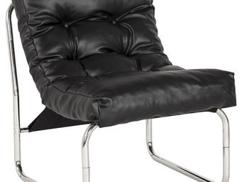 Alterego-Design - fauteuil lounge 'loft' noir - Sill�n Bajo