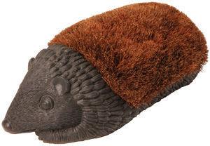 Esschert Design - brosse pieds hérisson en coco 41x22x14,5cm - Limpiabarros