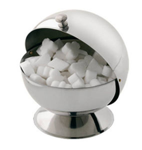 Tellier Gobel - boule à sucre en inox 14x16x14cm - Azucarero