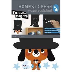 Nouvelles Images - stickers ardoise le magicien nouvelles images - Adhesivo