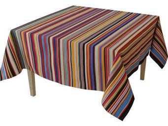Les Toiles Du Soleil - nappe rectangulaire tom multicolore - Mantel Rectangular
