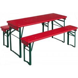 JARDIPOLYS - table pique-nique enfant mini brasseur jardipolys - Mesa De Picnic