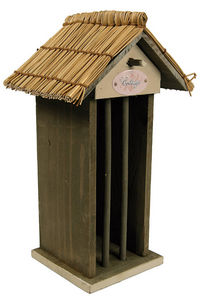 ZOLUX - distributeur de boules de graisse cottage en bois  - Comedero De Pájaros