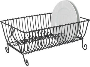 Aubry-Gaspard - egouttoir 21 assiettes en métal - Escurridor