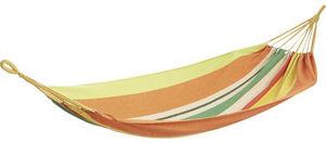 Aubry-Gaspard - hamac simple en coton et polyester - Hamaca