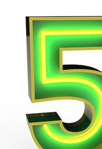 DELIGHTFULL - 5 - Números Decorativos