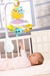 OUAPS - mobile musical et lumineux - Móvil Para Bebé