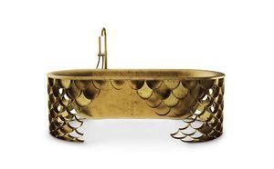 MAISON VALENTINA - koi bathtub - Bañera Exenta