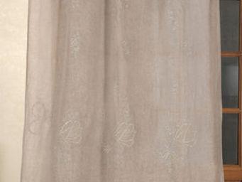 Coquecigrues - paire de rideaux les fées lilas - Cortina Confeccionada