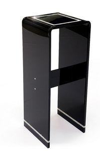 ACRILA - sellette sophie villepigue noire par acrila - Pedestal