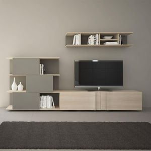 EGELASTA - meuble tv mural - Mueble Tv Hi Fi
