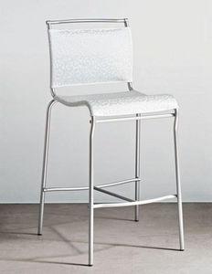 Calligaris - chaise de bar italienne air de calligaris structur - Silla Alta