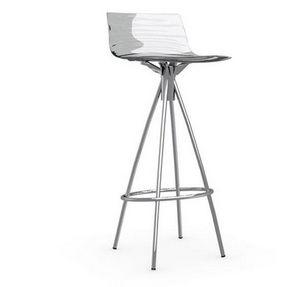 Calligaris - chaise de bar design l'eau de calligaris transpar - Silla Alta