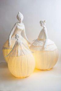 PAPIER À ÊTRES -  - Escultura Luminosa