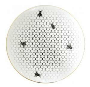 RORY DOBNER - bees all over plate - Plato Llano