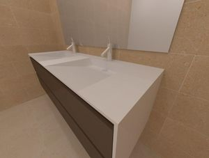 ADJ -  - Mueble De Baño Dos Senos