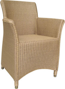 Aubry-Gaspard - fauteuil sapporo natruel en loom et rotin naturel - Sillón De Terraza
