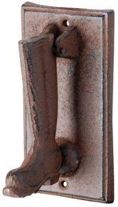 Esschert Design - heurtoir porte en fonte - Campana De Exterior