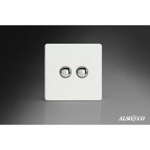 ALSO & CO - double push switch - Interruptor Doble