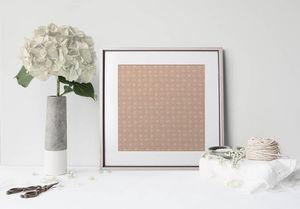 la Magie dans l'Image - print art trèfle beige foncé beige - Póster
