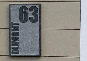 La Pierre -  - Placa Nombre Casa