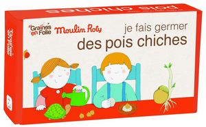 GRAINES EN FOLIE - kit de germination pois chiche ab - Semilla
