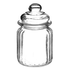 MAISONS DU MONDE - bocal en verre h 13 c - Tarro