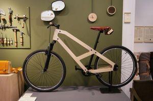 DAMIEND BEAL - vélo bois - Bicicleta Recta