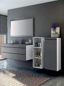 FIORA - -stucco - Mueble De Cuarto De Baño
