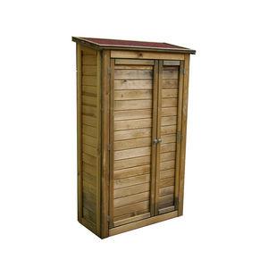 CEMONJARDIN - armoire de rangement en bois lisboa grand modèle - Guardaherramientas De Jardín