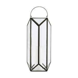 BOIS DESSUS BOIS DESSOUS - lanterne en métal vieilli intérieur ou extérieur - Linterna De Exterior
