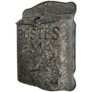 CHEMIN DE CAMPAGNE - boîte à lettre aux lettres boîte à courrier zinc m - Buzón