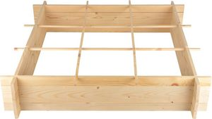 Secrets du Potager - carré potager en bois 1 mètre - Cuadrado Para Huerta