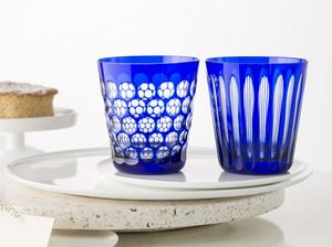 Rotter Glas - kugelbecher and spulen - Vaso