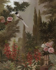 Ananbô - le jardin à la mandragore - Papel Pintado Panorámico