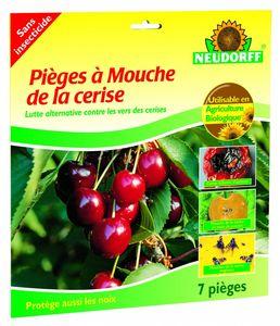 CK ESPACES VERTS - piège à mouches du cerisier - 7 pièces - Fungicida Insecticida