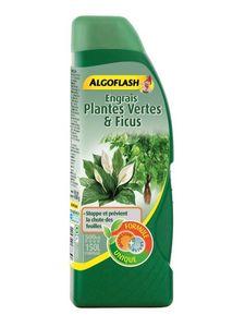 ALGOFLASH - engrais liquide plantes vertes et ficus 500ml - Fertilizante
