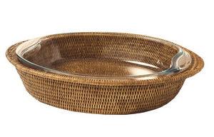 ROTIN ET OSIER - ovale rebecca - Fuente De Gratén