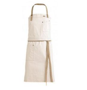 KENTAUR - 2 en 1 blanc - Delantal De Cocina