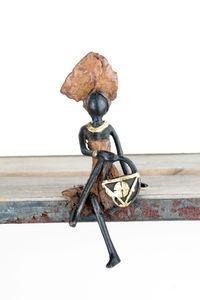 Bronzes d'Afrique -  - Estatuilla
