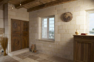 Occitanie Pierres - orangerie d'auberoche b3 - Paramento Pared Interior