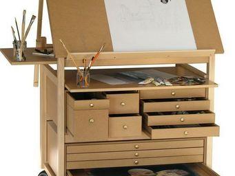 Auboi Martial Becquart - meuble atelier d'art - Mesa De Dibujo