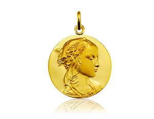 Arthus Bertrand - vierge adorazione - Medalla