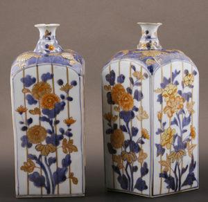 J.m. Bealu & Fils - bouteilles en porcelaine du japon - Botella